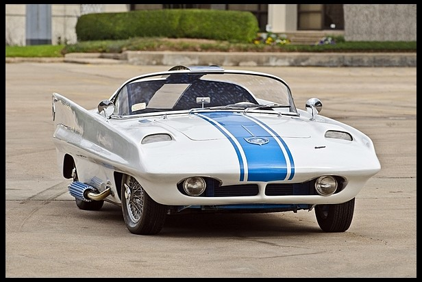 1957 Simca One Roadster Concept Conceptcarz Com