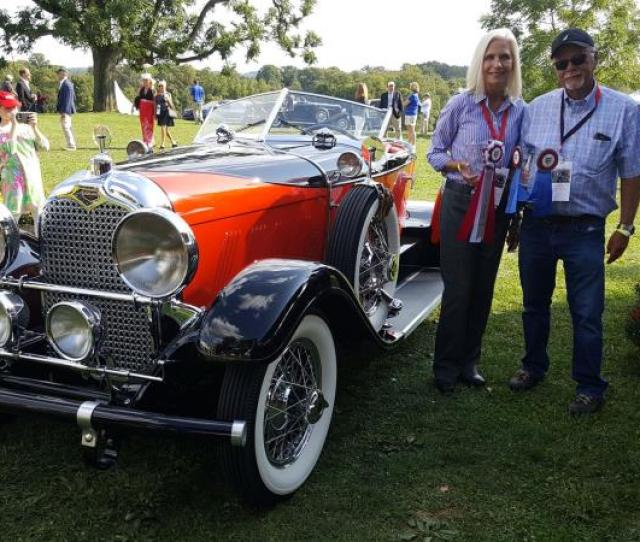 Radnor Hunt Concours 2017 By Mark Moskowitz Best Of Show The Auburn 8 88 Speedster Of Richard And Helen Harding