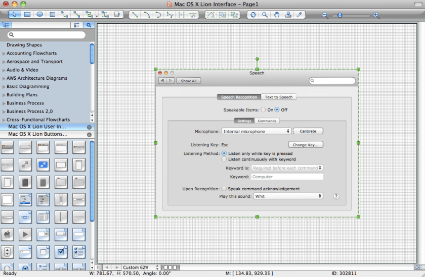 conceptdraw for software and database design - Diagram App For Mac