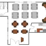 Workflow Examples Restaurant Floor Plans Samples Cafe And Restaurant Floor Plans Workflow Plan In Restaurant