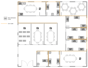 Network Layout Floor Plans Solution | ConceptDraw