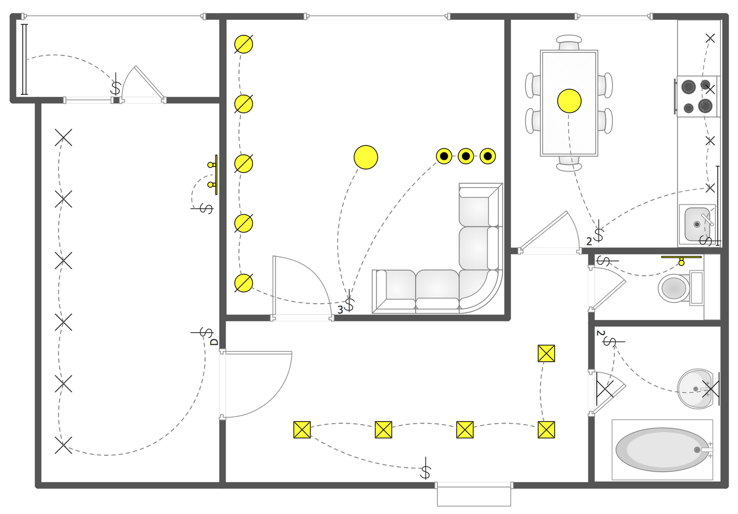 Ceiling Layout Plan