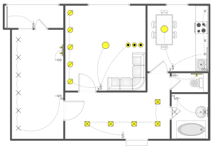 Reflected Ceiling Plans Solution   ConceptDraw