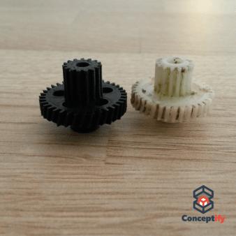 Engrenage fabriqué en impression 3D