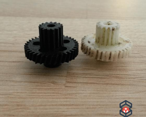 Re-fabrication de pièces en 3D