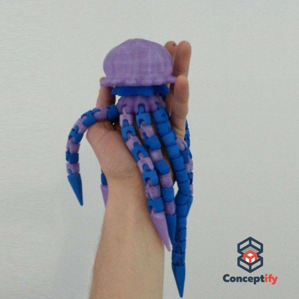 Méduse réalisée par impression 3D