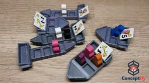 Prototype jeu de société imprimé en 3D
