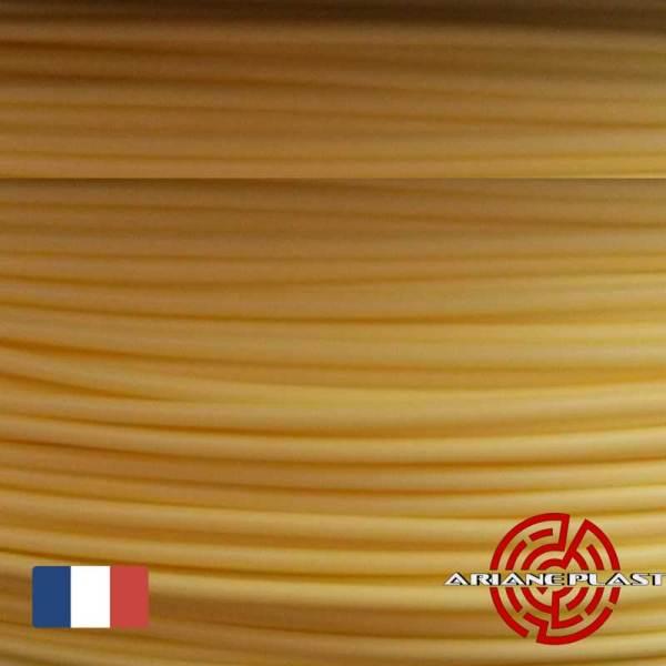 Filament Arianeplast jaune pour Imprimante 3D fabriqué en France