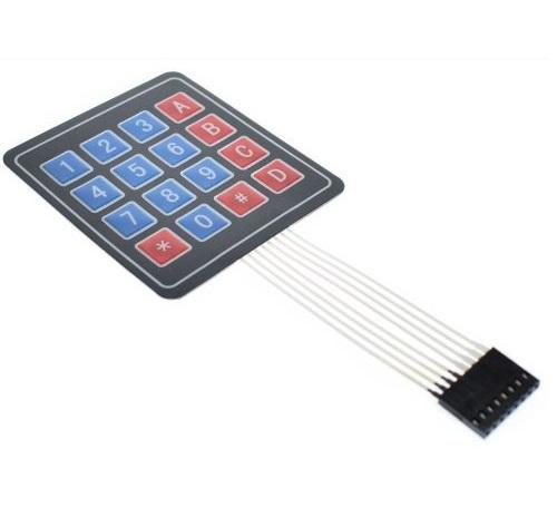 Clavier membrane 16 chiffres pour Arduino