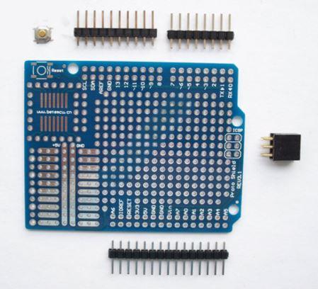 Shield de prototypage pour carte UNO