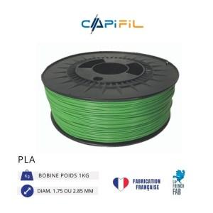 CAPIFIL - Fil imprimante 3D - PLA - Vert - Conceptify Nancy