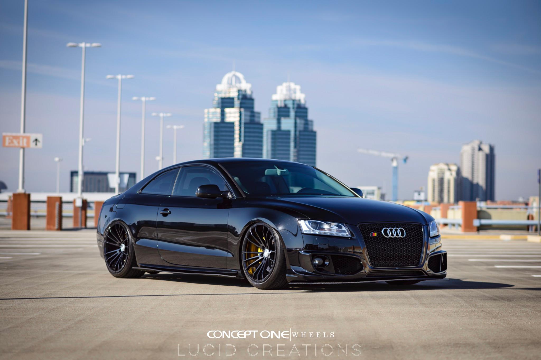 Audi A5 Csm 001 Concept One Wheels Usa