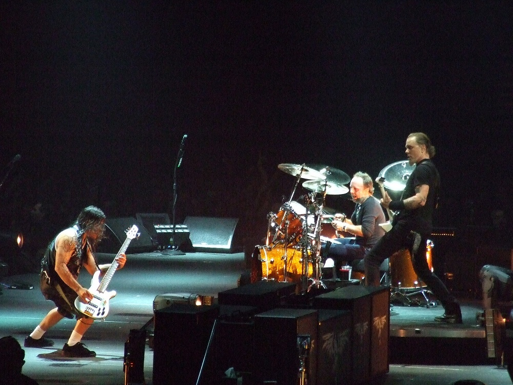 Concert review - Metallica at gm place in Vancouver, BC in 2008