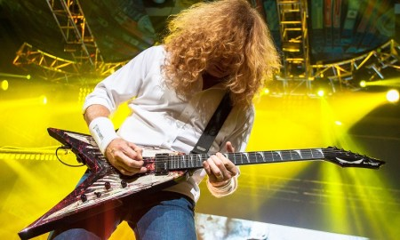 dave mustaine of megadeth @ Abbotsford Entertainment & Sports Centre - July 29th 2013