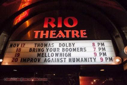 Thomas Dolby @ The Rio Theatre - November 17th 2013