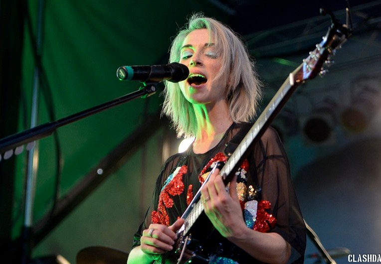 St. Vincent on Day 2 @ Hopscotch Music Festival – September 5th 2014