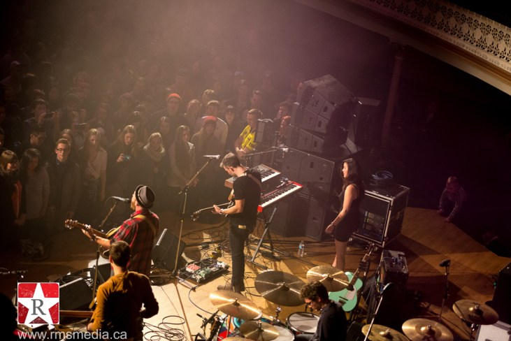 Said The Whale @ Alix Goolden Performance Hall © Rob Porter