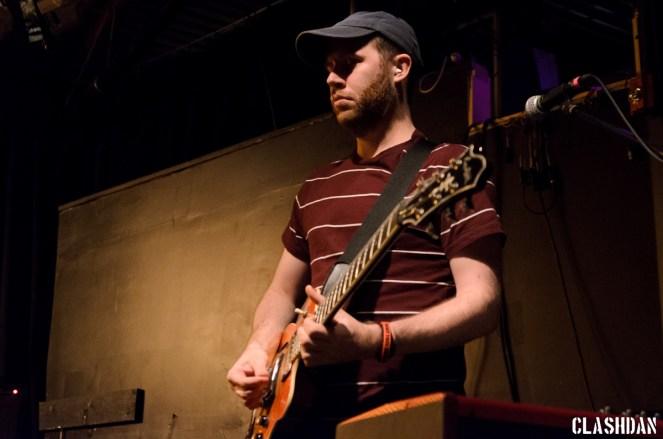 Stuart McGachan of We Were Promised Jetpacks at Cats Cradle © Dan Kulpa