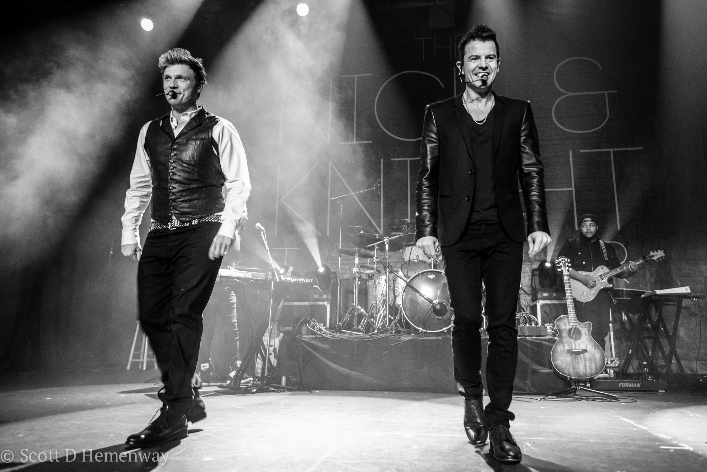 Nick Carter + Jordan Knight @ Vogue Theatre © Scott Hemenway