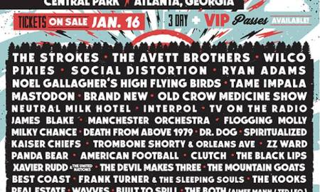 shaky knees music festival 2015 lineup
