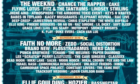 Bumbershoot 2015 lineup announcement poster