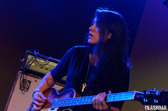 Lena Simon of La Luz @ Kings Barcade © Dan Kulpa