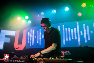 Mat The Alien at Sugar Nightclub in Victoria, BC on March 20th 2015