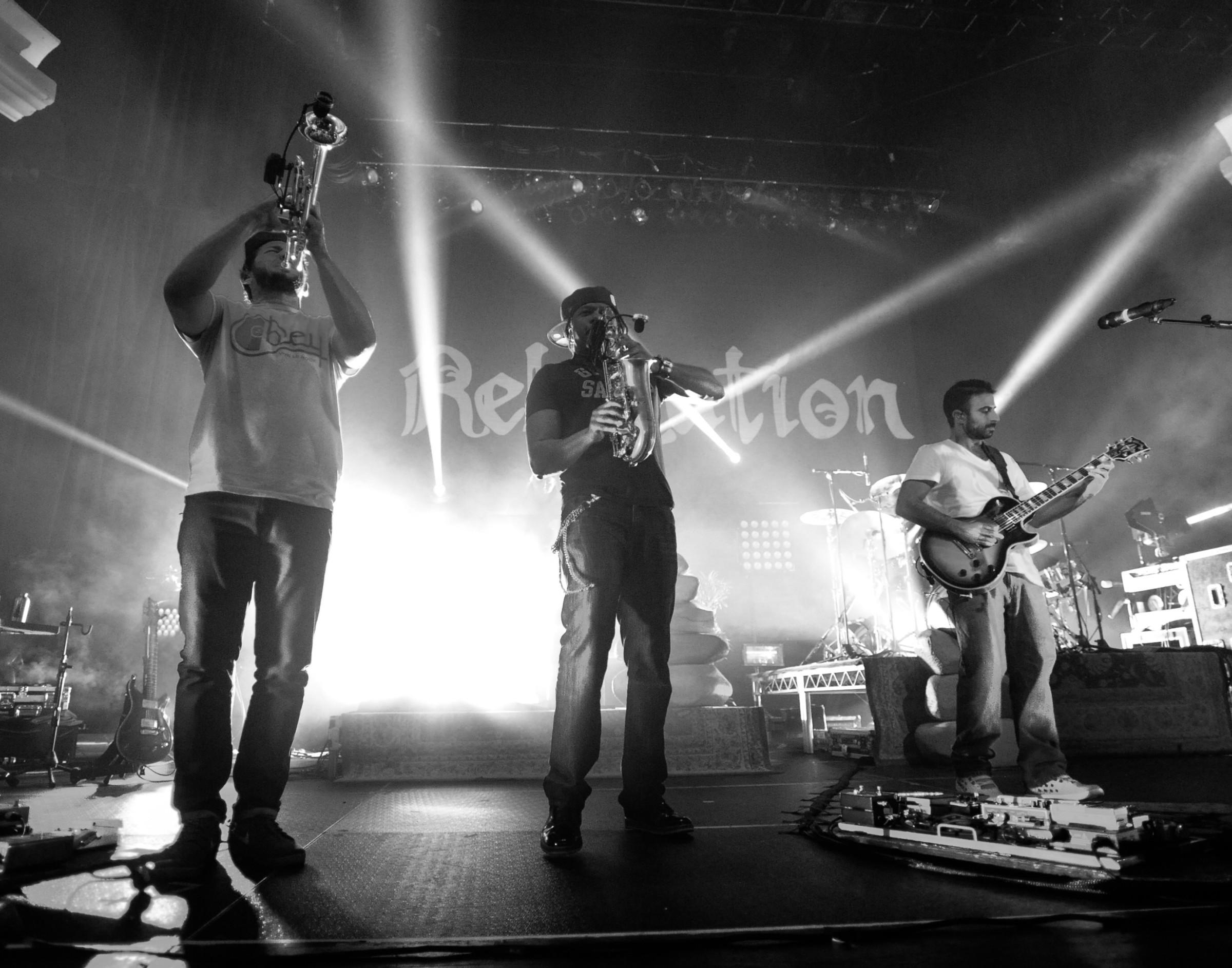 Rebelution @ Hollywood Palladium © Tristan Bellisimo