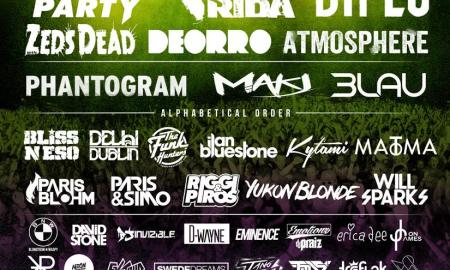 Monster Energy Center of Gravity 2015 lineup poster