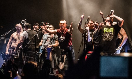 The Real Mckenzies @ Rickshaw Theatre © Erik Iversen