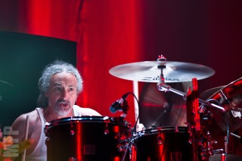 Mike Bordin of Faith No More at The Paramount © Michael Ford