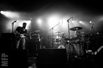 Jared Warren and Coady Willis of Big Business at Showbox SODO © Michael Ford