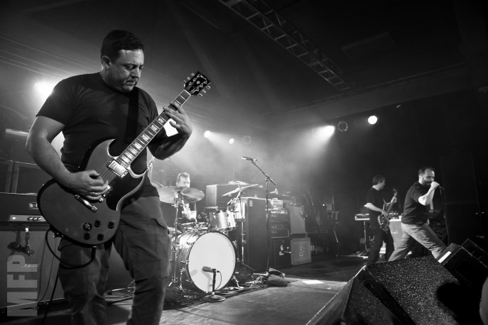 Tim Sult and Neil Fallon of Clutch at Showbox Sodo © Michael Ford