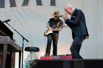 The Frey with Train at the Molson Canadian Ampitheatre