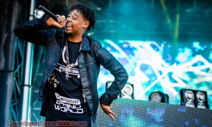 Danny Brown at Day 2 of Fvded In The Park @ Holland Park – July 4th 2015
