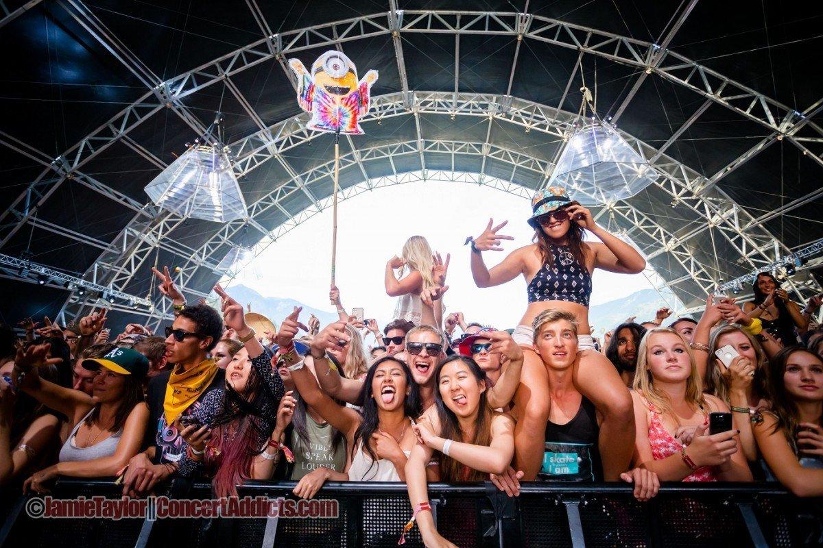 Bass Camp Crowd @ Pemberton Music Festival - July 16th 2015