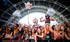 Bass Camp Crowd @ Pemberton Music Festival - July 16th 2015