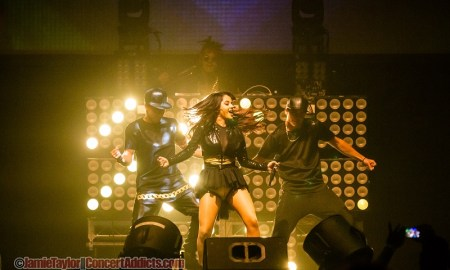 Becky G performing at Family Channel Big Ticket Summer Concert @ Abbotsford Centre - August 15th 2015