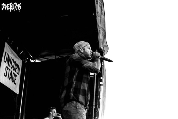We Came As Romans at Qualcomm Stadium ©Dane Burns