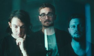 alt-j promotional image 2015 by Marcus Haney