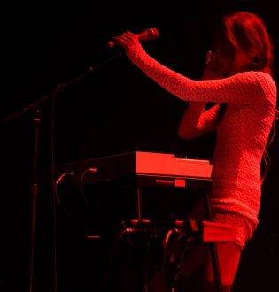 Makino handling Mellotron and vocals