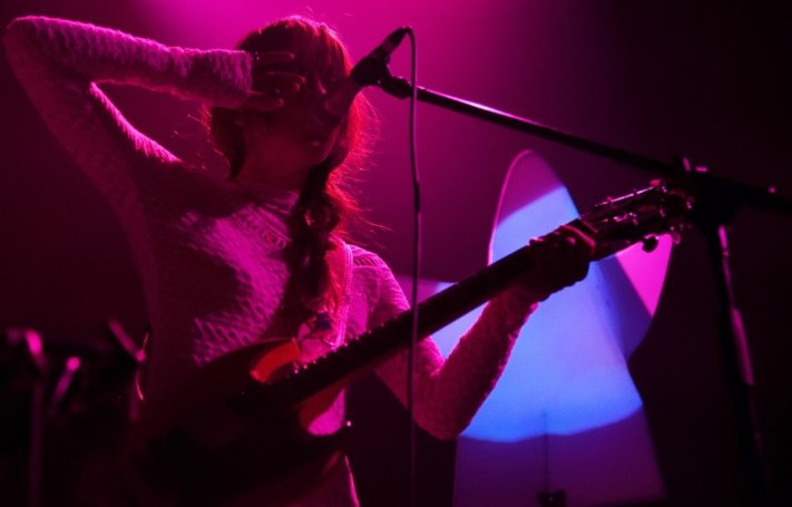 Kazu Makino of Blonde Redhead