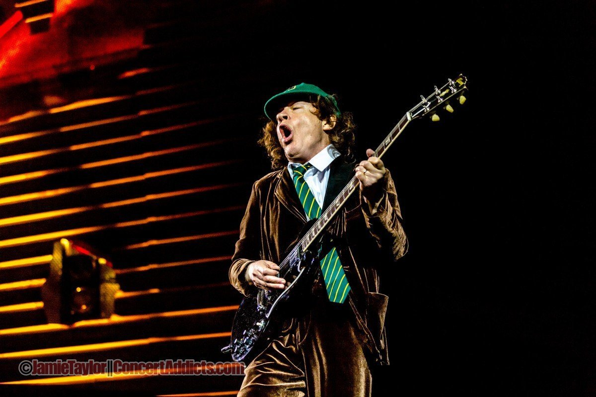 Angus Young of AC/DC @ BC Place - September 22nd 2015