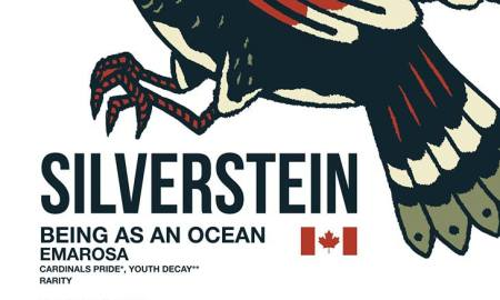 Silvertstein Announce 2016 Canadian Tour