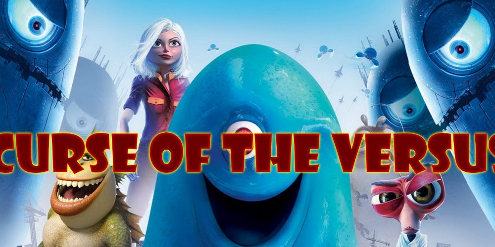 monsters vs aliens 2009 poster review podcast curse of the versus