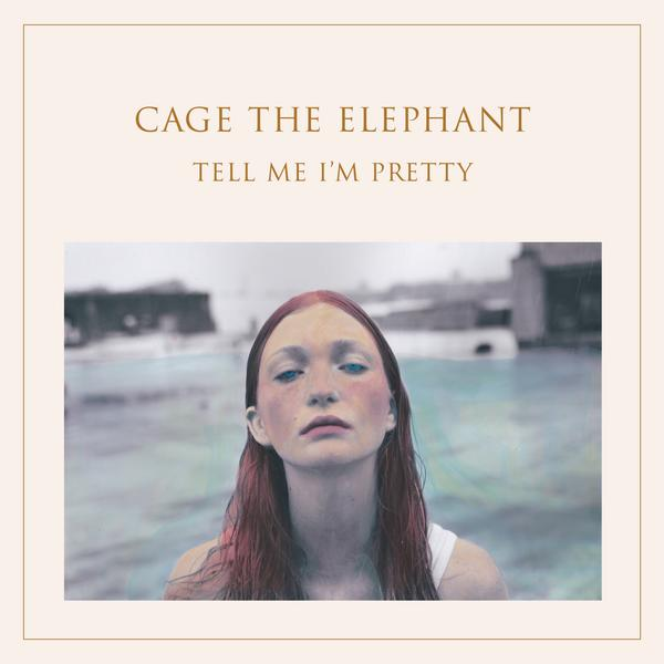 "Cage The Elephant – ""TELL ME I'M PRETTY"" 2015 album cover"