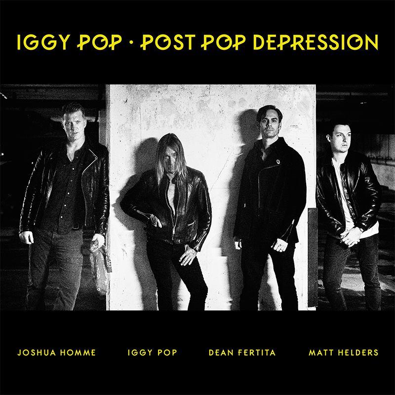 iggy pop josh homme post pop depression album cover 2016
