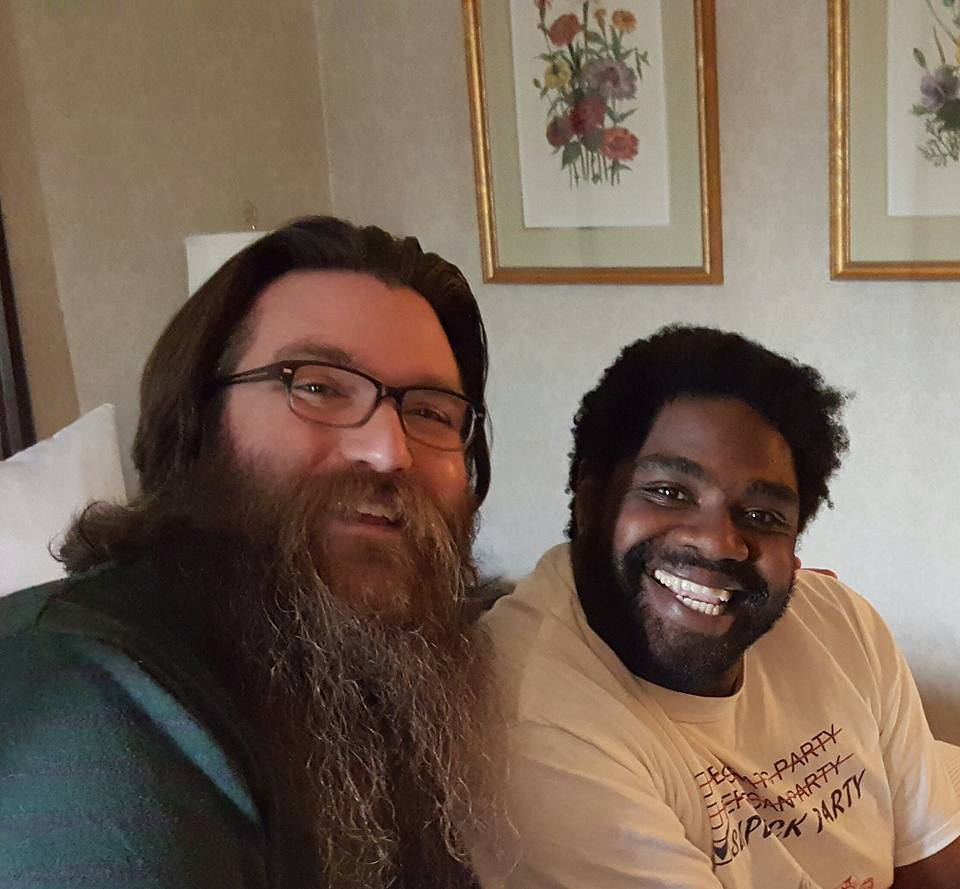 Ron Funches and Jamie Taylor in Vancouver 2016