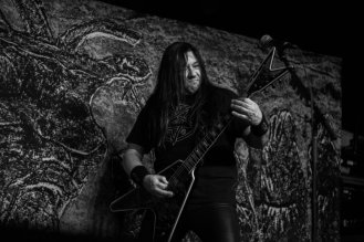 Eric Peterson of Testament @ The Ritz in Raleigh, North Carolina © Masen Smith