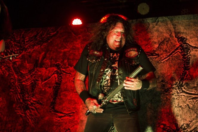 Chuck Billy of Testament @ The Ritz in Raleigh, North Carolina © Masen Smith